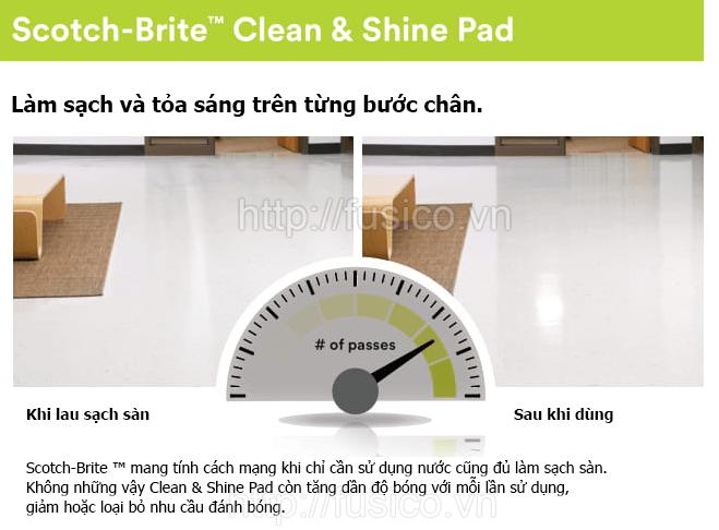 3M liên tục cải tiến chất lượng pad chà sàn