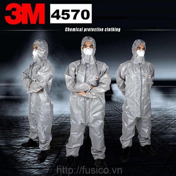Bộ quần áo bảo vệ toàn thân 3M 4570 coverall