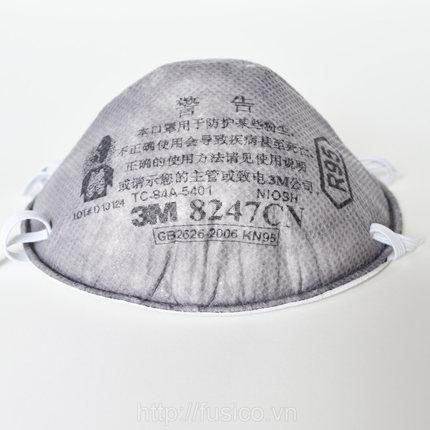 Ảnh khẩu trang 3m 8247 than hoạt tính tiêu chuẩn R95