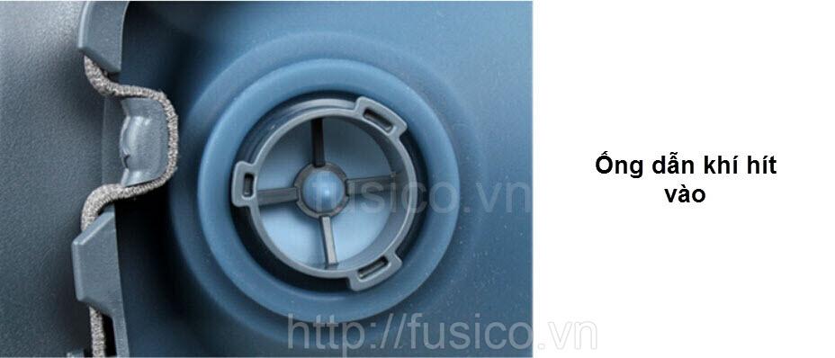 Chi tiết mặt nạ phòng độc 3M 7501 size nhỏ - ống dẫn khí