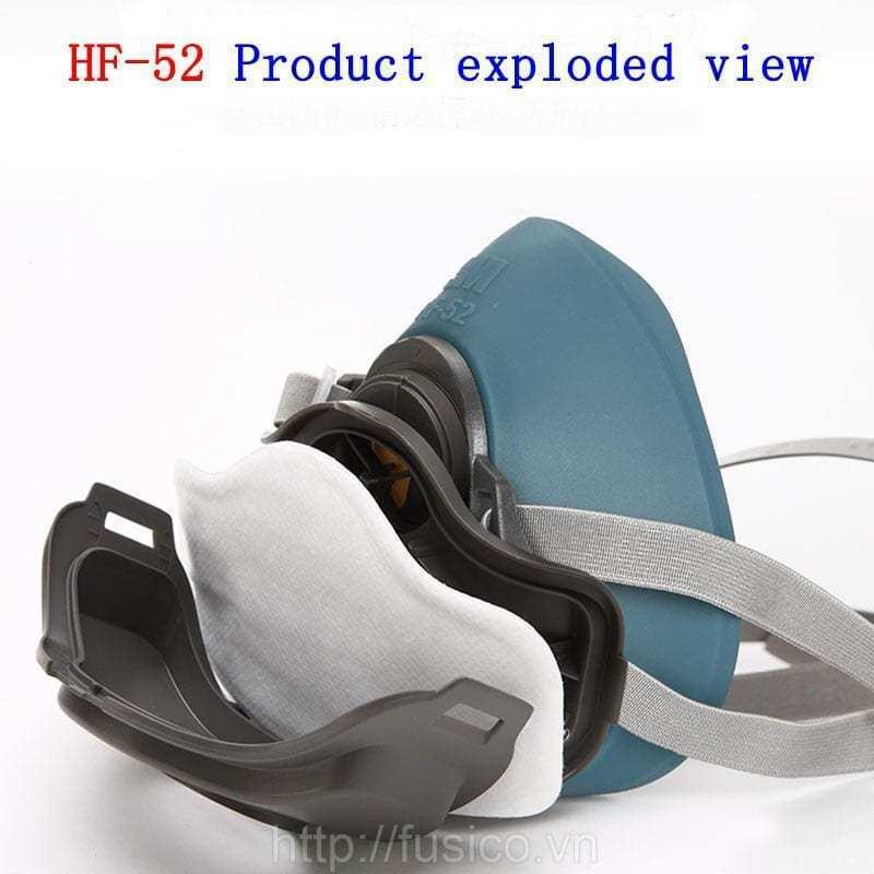 Chi tiết mặt nạ phòng độc 3M HF 52