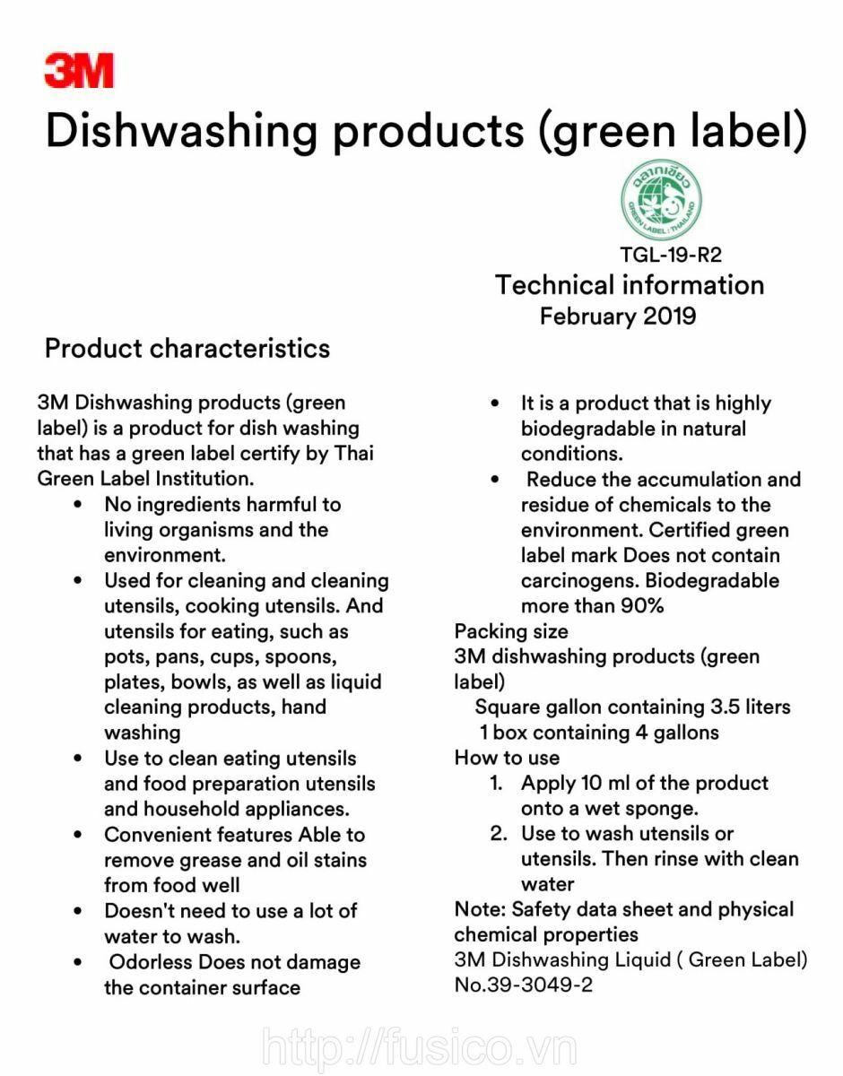 Chứng nhận xanh Green Label Thái Lan
