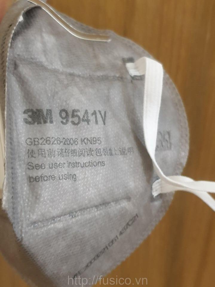 Dây đeo khẩu trang lọc bụi 3m 9541v có van thở kn95