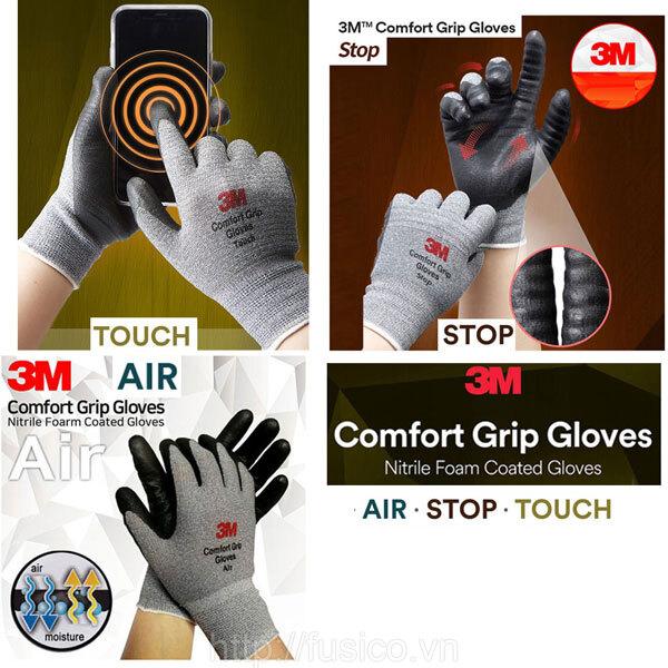Ưu điểm nổi bật Găng tay đa dụng 3M