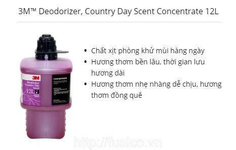 Hóa chất khử mùi 3M 12L