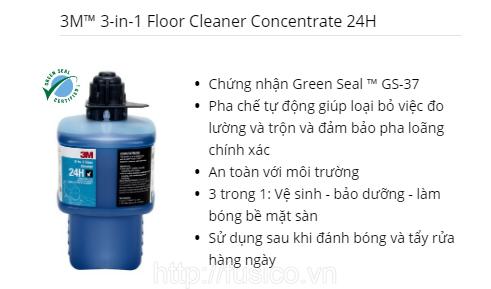 Hóa chất lau sàn 3M 24H