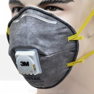 Khẩu trang 3M 9914K ôm khít khuôn mặt dễ thở