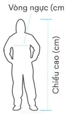 Lựa chọn kích thước quần áo bảo hộ 3M