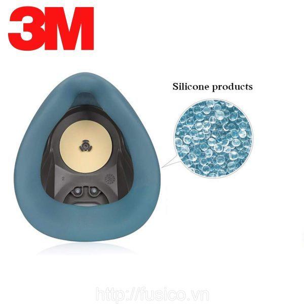Mặt nạ phòng độc nửa mặt 3M HF 52 silicon