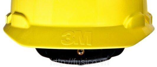 Mũ bảo hộ lao động 3M H-702R màu vàng