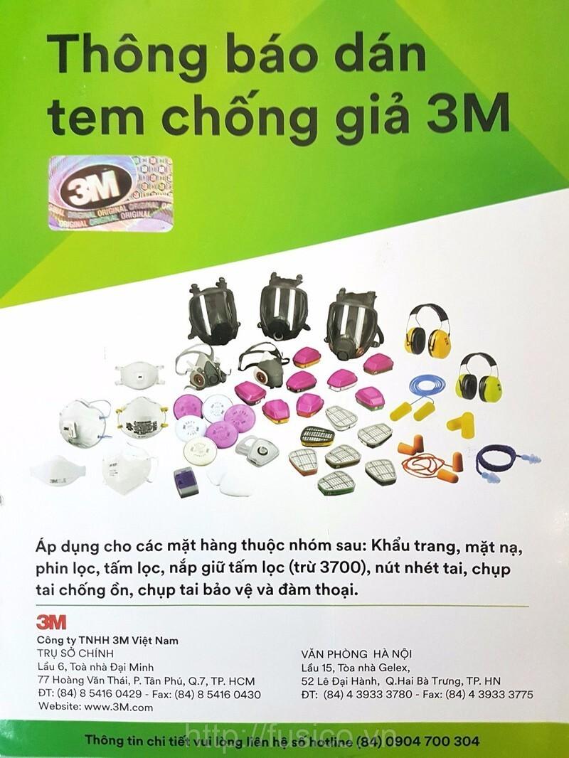 Thông báo tem chống hàng giả hãng 3M