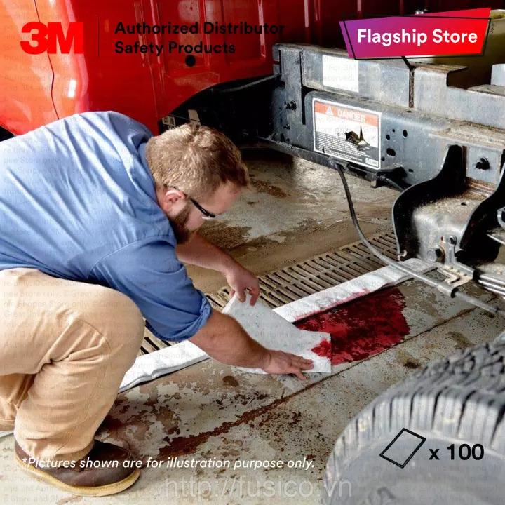 Sản phẩm Thấm hút dầu 3M HP-100