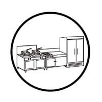 miếng chùi rửa 3M 88 vệ sinh thiết bị bếp