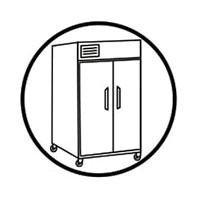 miếng chùi rửa 3M 2000 vệ sinh tủ lạnh