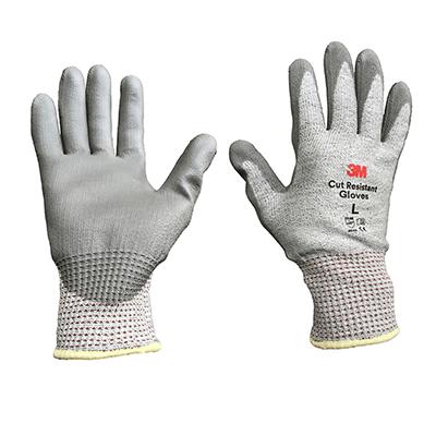 Găng tay chống cắt cấp độ 3 - Xám trắng - Size L