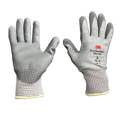 Găng tay chống cắt cấp độ 5 xám trắng size L