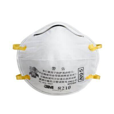 Khẩu trang lọc bụi bảo vệ hô hấp 3M 8210, N95