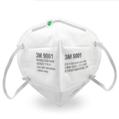 Khẩu trang 3M 9001A P1 lọc ít nhất 80% bụi mịn, vi khuẩn, vi rút