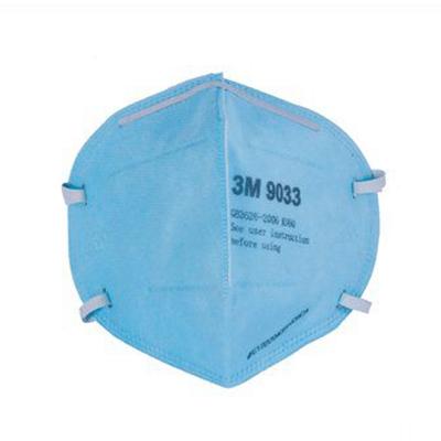 Khẩu trang lọc bụi bảo vệ hô hấp 3M 9033, màu xanh