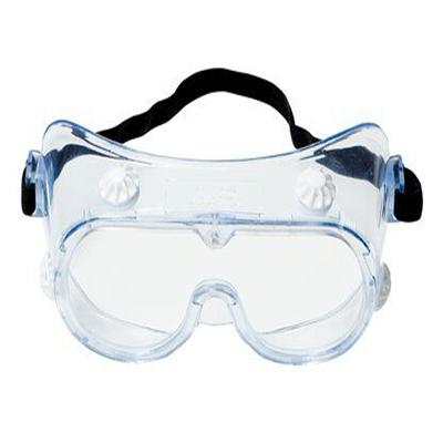 Kính bảo hộ 3M 334 chống văng bắn hóa chất, chống đọng sương