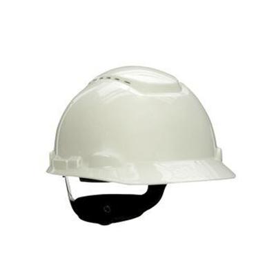 Mũ bảo hộ 3M H-701V có lỗ thoáng khí màu trắng