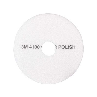 Pad chà sàn 3M 4100 White Super Polish 16 inch (thùng 5 cái)