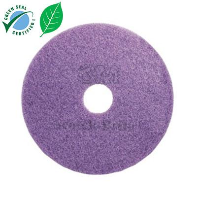 Pad chà sàn 3M Scotch-Brite Purple Diamond 16 inch (thùng 5 cái)