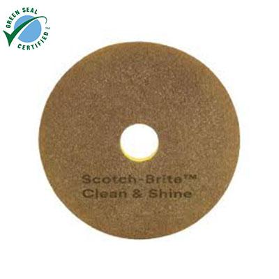 Pad chà sàn 3M Scotch-Brite Clean Shine 16 inch (thùng 5 cái)