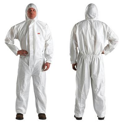 Quần áo bảo vệ 4510 màu trắng cỡ L
