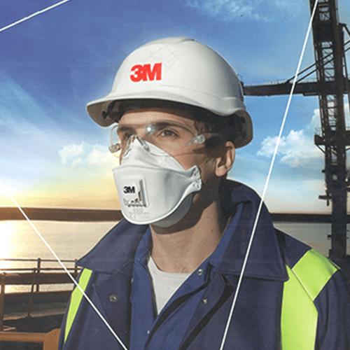 Giải pháp bảo vệ hô hấp - Khẩu trang 3M